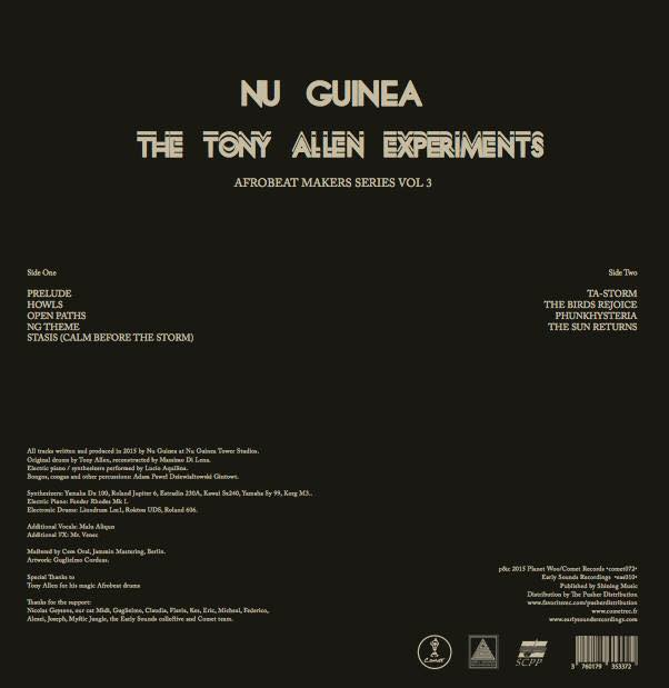 the tony allen eperience